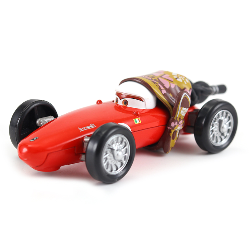 Cars Disney Pixar Cars Mama Francesco Bernoulli Metal Diecast Toy Car 1:55 Loose Brand New In Stock  Disney Car2 & Car3