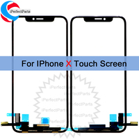 For iPhone 10 X Touch Panel Screen Digitizer Front Glass Sensor Touchscreen Replacement For Apple iPhone X Touch Screen