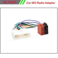 Car Stereo ISO Radio Adapter Connector For Honda All Model 1995 1998 Auto Wiring Harness Lead