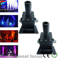 2pcs Lot Stage Effect CO2 Jet Machine Co2 Jet Machine LED CO2 Jet For Stage Easy