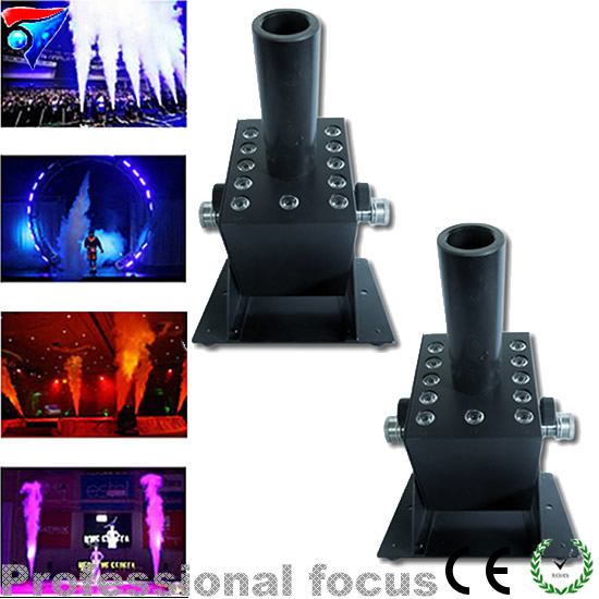 Free Shipping 2pcs/lot Stage Effect CO2 Jet Machine / Co2 Jet Machine / LED CO2 Jet For Stage Easy Angle Small Co2jets