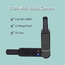 Cheap price T189 Micro Camera 8 MP Full HD 1080P Mini Pen Camera Voice Recorder Digital Video Camera Recorder Portable TV Out Mini Cam