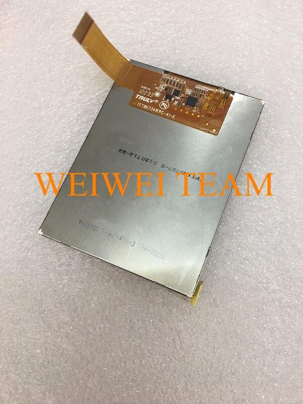 Nova chegada 3.5 polegada display panel para PISN S-300 S300 PDA tela lcd com tela de toque digitador de vidro do painel de toque