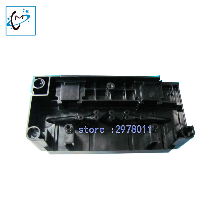Free shipping original new F158000 printhead manifold water based for Ep 4880 7800 9800 R1800 R2400 print head  cover adapter water based printhead manifold adapter original for epson dx5 stylus pro4800 7800 9800 4880 9880 7880 r1800 r2400 r4000