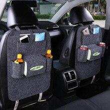 1 шт., автомобильная сумка для хранения, универсальная коробка, сумка на заднее сиденье, органайзер, держатель на заднее сиденье, карманы, защита для автомобиля, автомобильные аксессуары для детей