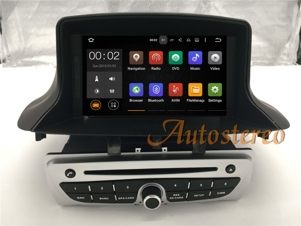 quad core android5 1 car dvd cd player for renault megane. Black Bedroom Furniture Sets. Home Design Ideas
