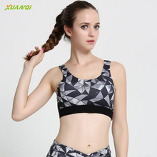 Women's Professional Yoga Bra Quick Dry Breathable Printed Sports Vest