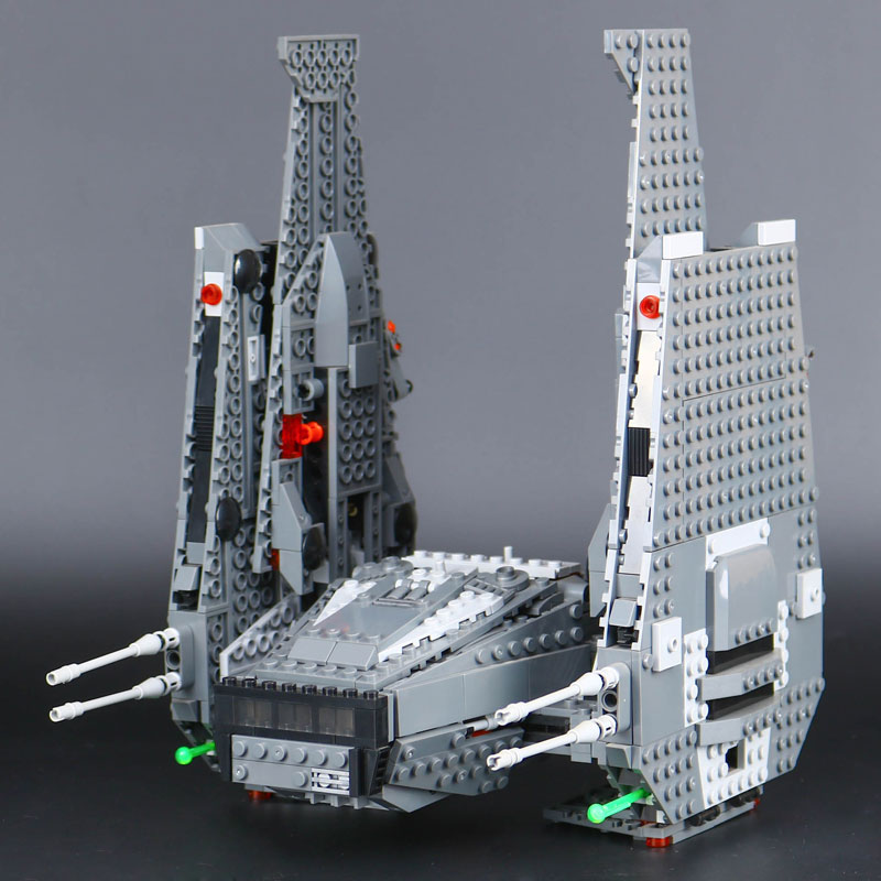 05006 Star Toys Wars The 75104 Kylo Toys Ren Command Shuttle Building Blocks Educational Assembly Toys
