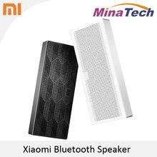 100% оригинал Сяо Mi Ми Bluetooth Динамик Портативный Беспроводной мини квадрат Bluetooth 4.0 Динамик для телефона я и Android телефоны