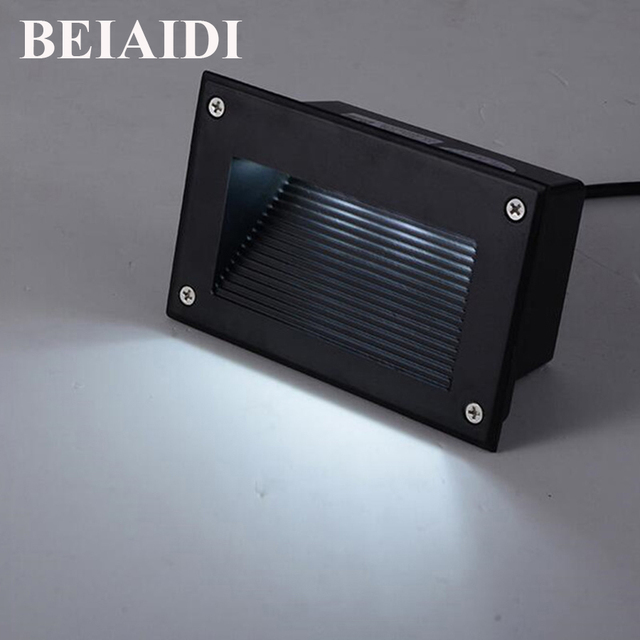 Beiaidi 10pcs 3w waterproof led stair step light outdoor recessed beiaidi 10pcs 3w waterproof led stair step light outdoor recessed wall corner light led footlight stairs aloadofball Image collections