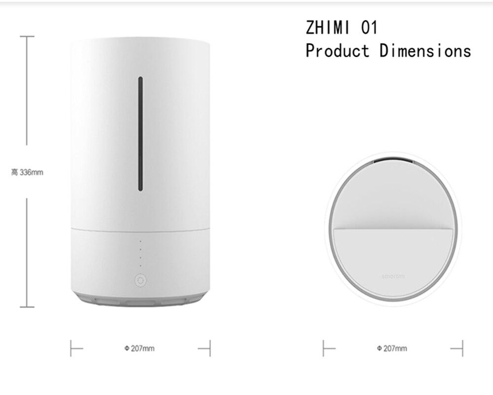XiaoMi SMARTMI Pur type Humidificateur App Contrôle du Smog-livraison Brouillard-livraison Pur S'évaporer fonctionnement Durable, pratique de nettoyage. - 6