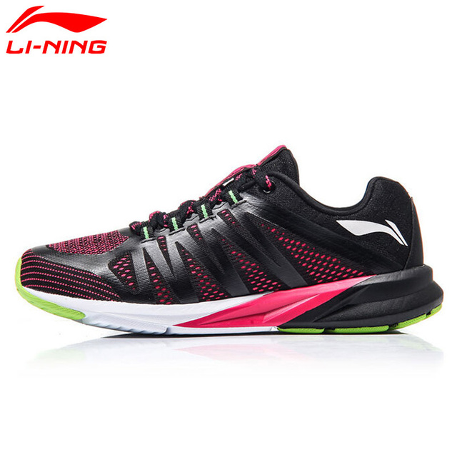 Li-Ning Women's Colorful Cushion Running Shoes Mesh Breathable Sports Shoes LiNing Sneakers ARHM016 XYP496
