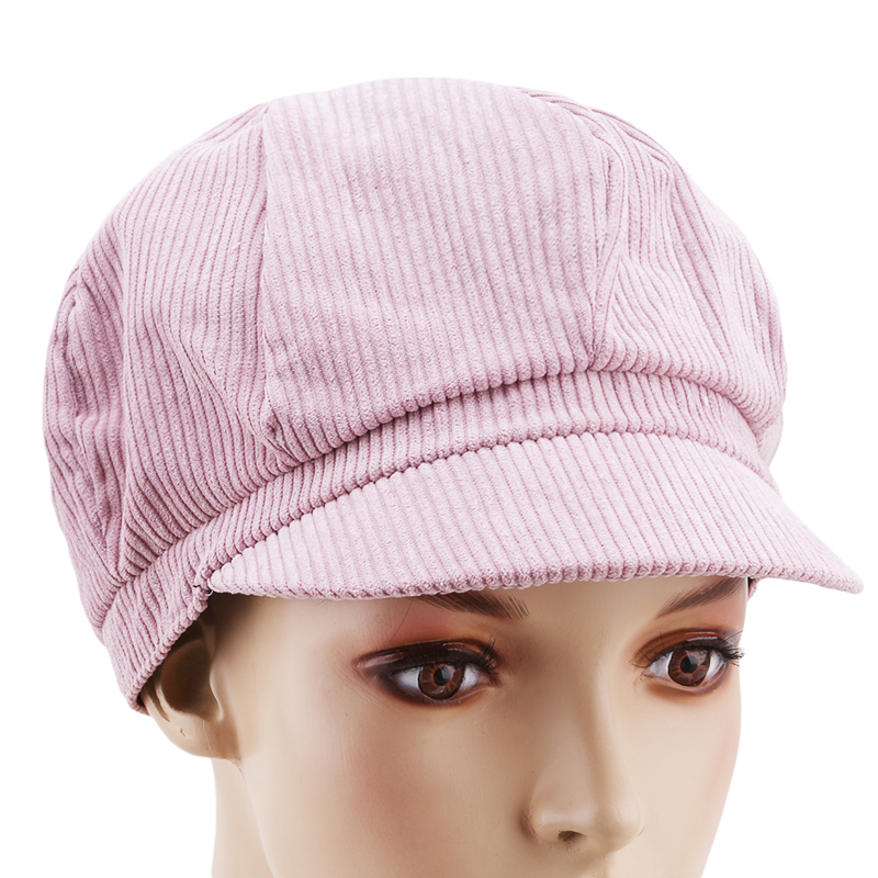87edf891ae6 Women Vintage Newsboy Cap Beret Painter Beret Winter Hats For Female ...