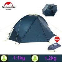 Naturehike 20D Nylon Outdoor Camping Tent Three Season Tent One Bedroom 1 2 Person Tent Waterproof