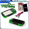 Tropweiling fornecimento de energia solar 6000 mah carregador portátil de energia móvel carregador de bateria bancos de energia para Todos Os telefones