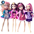 Hot sale Fashion Monster doll Clothes BDCOLE Handmade Supermodel Subcoat Bottoming Dress and Cardigan coat for monster high doll