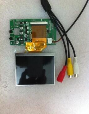 3.5 pouces LQ035NC111 plus conseil d'entraînement bricolage finder accessoires projection surveillance voiture vue arrière