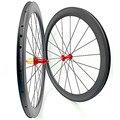 700c vélo carbone roues pneu 50x25mm U carbone roues FASTace RA209 carbone route roues vélo roue 1610g|Roue de vélo| |  -