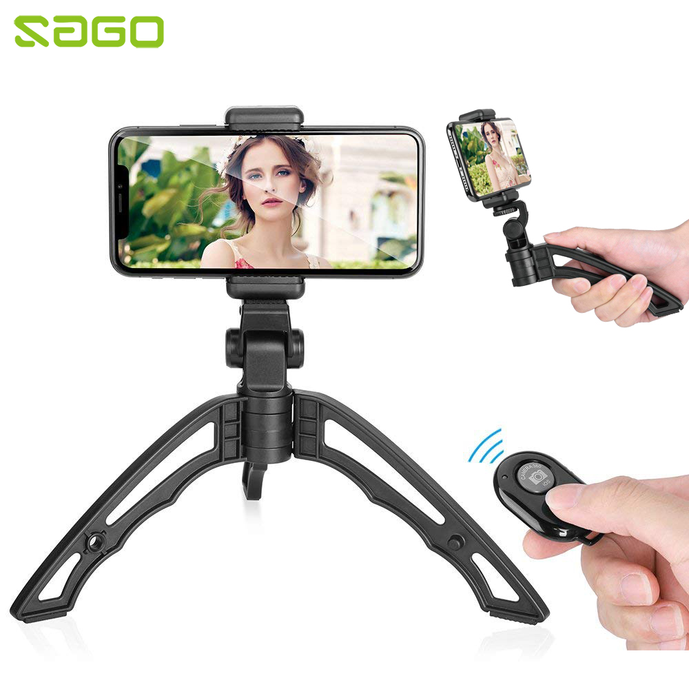 Sago 2018 New Arrival Flexible <font><b>Tripod</b></font> <font><b>Mount</b></font> Hand <font><b>Holder</b></font> for iPhone Samsung Mobile <font><b>Phones</b></font>/GoPro Cameras with Remote Controller