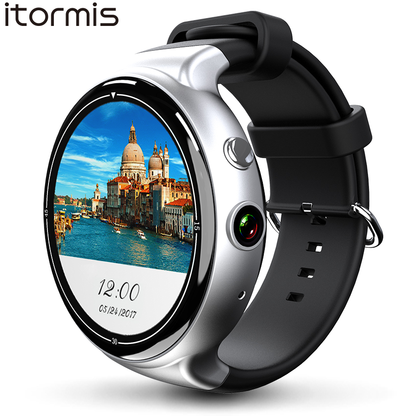 ITORMIS Android 5,1 Смарт часы Smartwatch наручные часы MTK6580 16G Встроенная память 2G Оперативная память 3g SIM Wi Fi спорт Фитнес 2MP Камера gps сердечного ритма