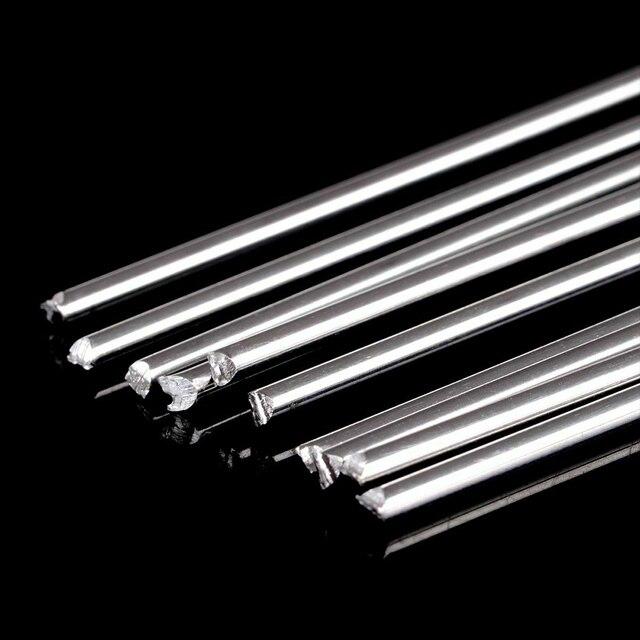 10 Pcs Easy Melt Welding Rods 1.6mmx45cm Low Temperature No Need Solder Powder