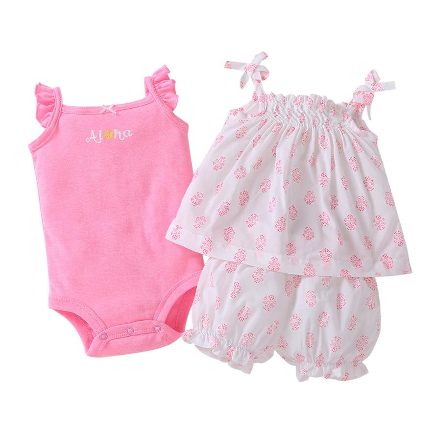 Venta caliente Ropa de bebé Ropa de algodón floral Ropa de bebé - Ropa de bebé