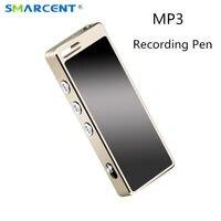 SMARCENT 8 GB/16 GB Kayıpsız HiFi HD MP3 Çalar Dijital Ses Kaydedici Ses Kayıt Kalem 4 GB Ultra temizle Dictaphone MP3 Çalar