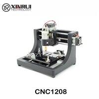 Джедай CNC1208 супер мини хобби машина 3 оси печатных плат фрезерный станок, мини маршрутизатор древесины для обучения и исследование лучшая иг