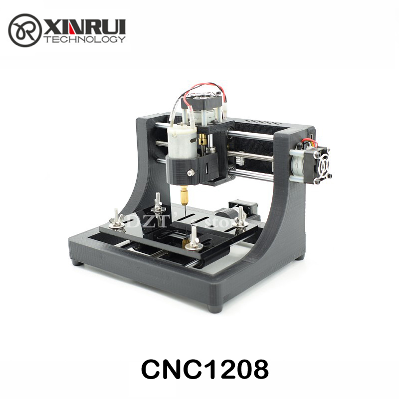 JEDI CNC1208 super mini hobby Machine 3 Axis Pcb Milling machine,mini Wood Router for learning & study best toy Assembled