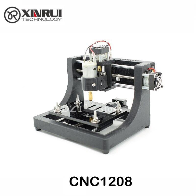 JEDI CNC1208 super mini passe-temps Machine 3 Axes Pcb fraiseuse, mini Bois Routeur pour l'apprentissage et étude meilleur jouet Assemblé
