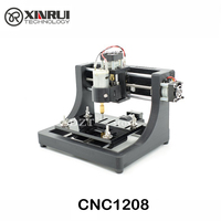 JEDI CNC1208 Super Mini Hobby Machine 3 Axis Pcb Milling Machine Mini Wood Router For Learning
