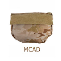 EMERSONGEAR Genuine Multicam Tropic Arid Black Armor Carrier Hook Loop Mounted Drop Molle Tactical Pouch For