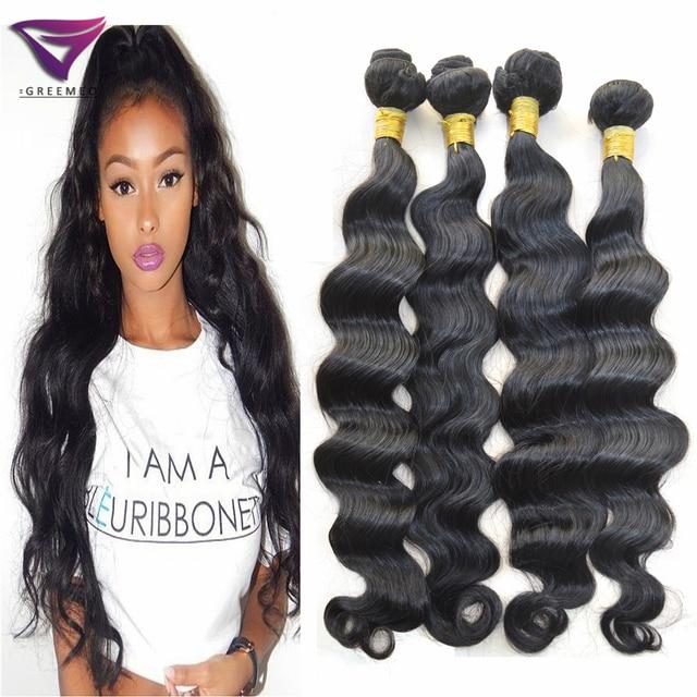 Aliexpress Uk Wavy Humano Hair Weave For Black Women Deep Loose Wave