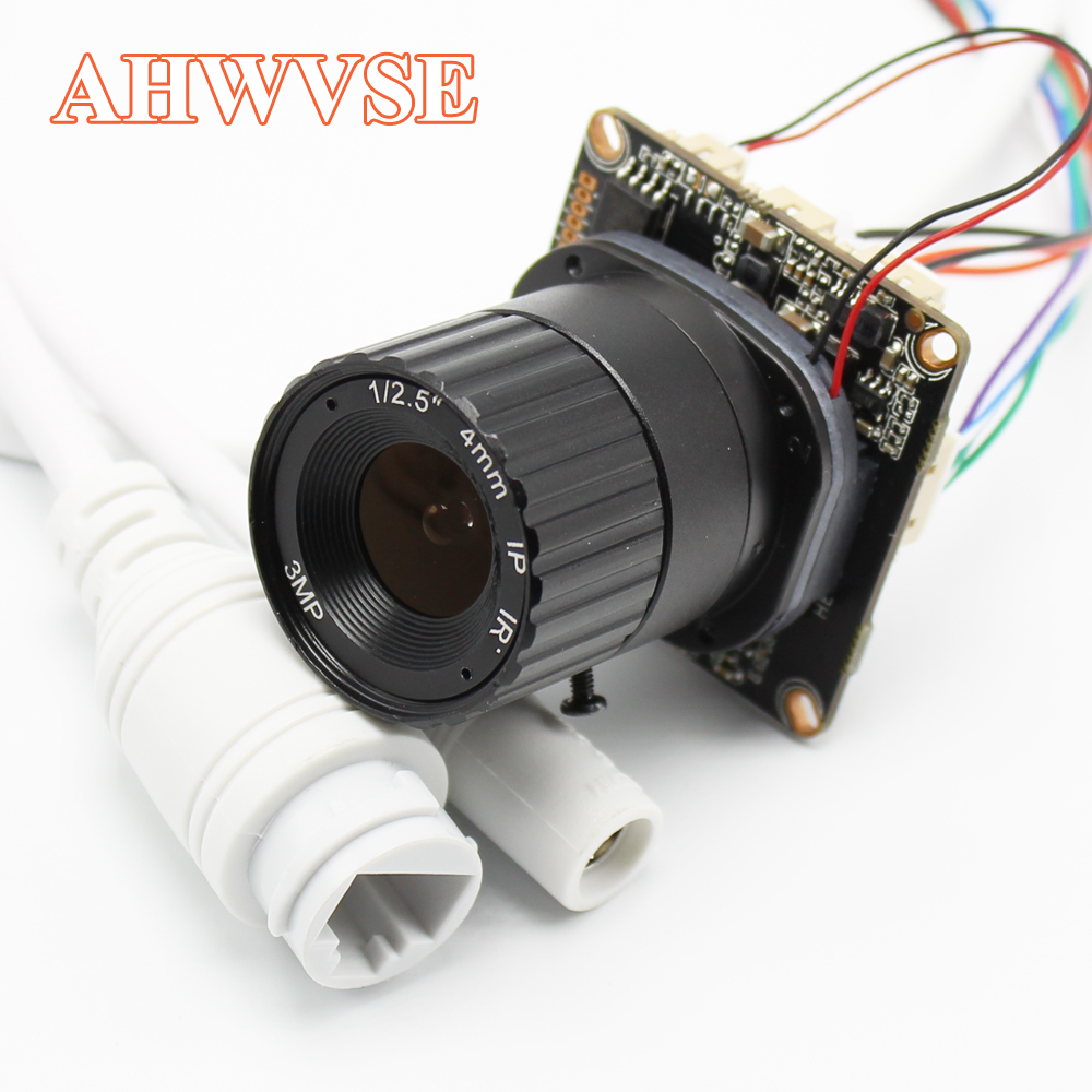 Long Distance View 4MP Hi3516D+OV4689 IP Camera Module With CS LENS Board XMeye App Camera PCB DIY CCTV Security Camera ONVIF