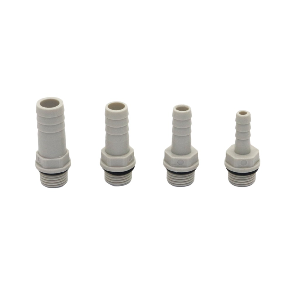 """Pack of Air Line 1//2/"""" Hose End Barb 10mm BSP Bayonet Fittinf Male Coupling"""