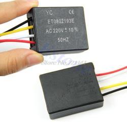 Настольный свет запчасти ВКЛ/ВЫКЛ 1 способ Сенсорное управления лампа переключатель