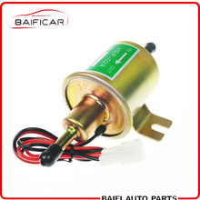 Baificar Brand New 12V Electric Fuel Pump Low Pressure Bolt Fixing Wire Diesel Petrol HEP-02A For Car Carburetor Motorcycle ATV(China)