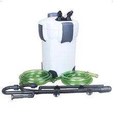 18 Вт SUNSUN HW-402B 3-этап из стороны фильтр Внешний канистра фильтр для аквариума фильтрации с 9 Вт УФ-стерилизатор