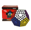 Shengshou Gigaminx negro cuerpo cubo mágico Gigaminx Speed negro cubo mágico