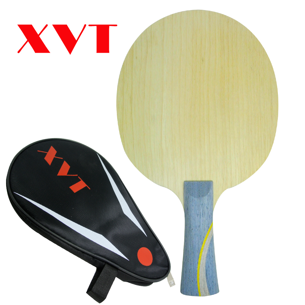 XVT  Hurricane LONG 5  ZLC Carbon  Table Tennis Blade/ Ping Pong Blade/ Table Tennis Bat  Send FuLL Cover Case