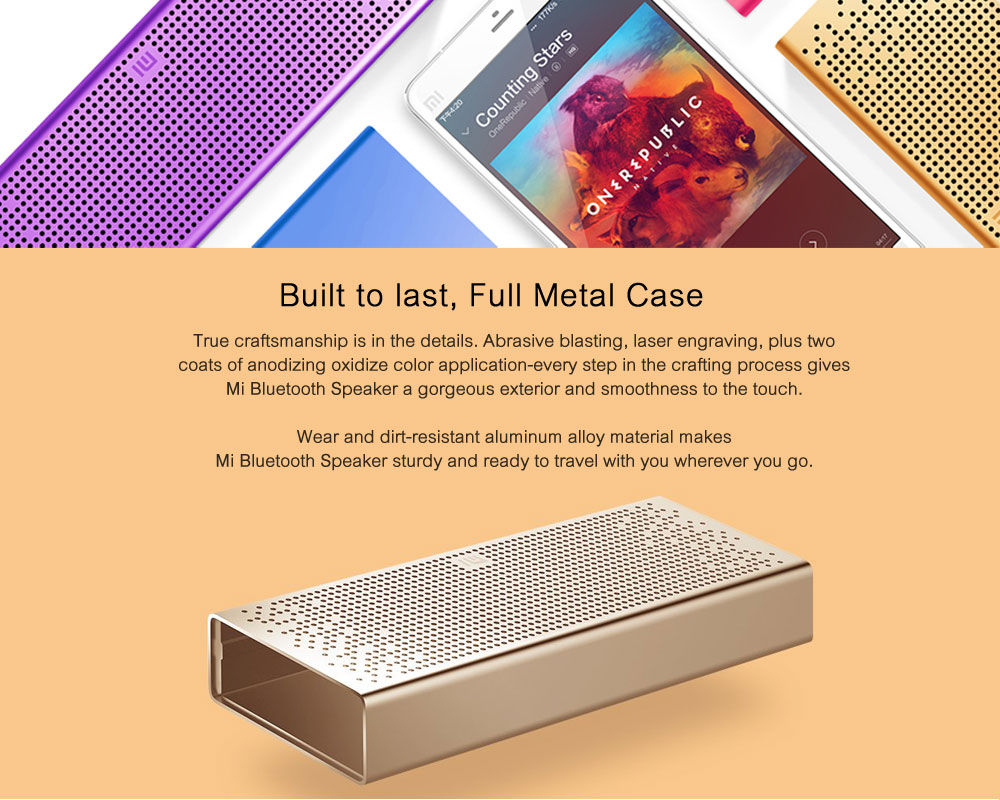 Original Xiaomi Mi Bluetooth Speaker Stereo Wireless Mini Portable Bluetooth Speakers Music MP3 Player Support Handsfree TF Card ok (4)