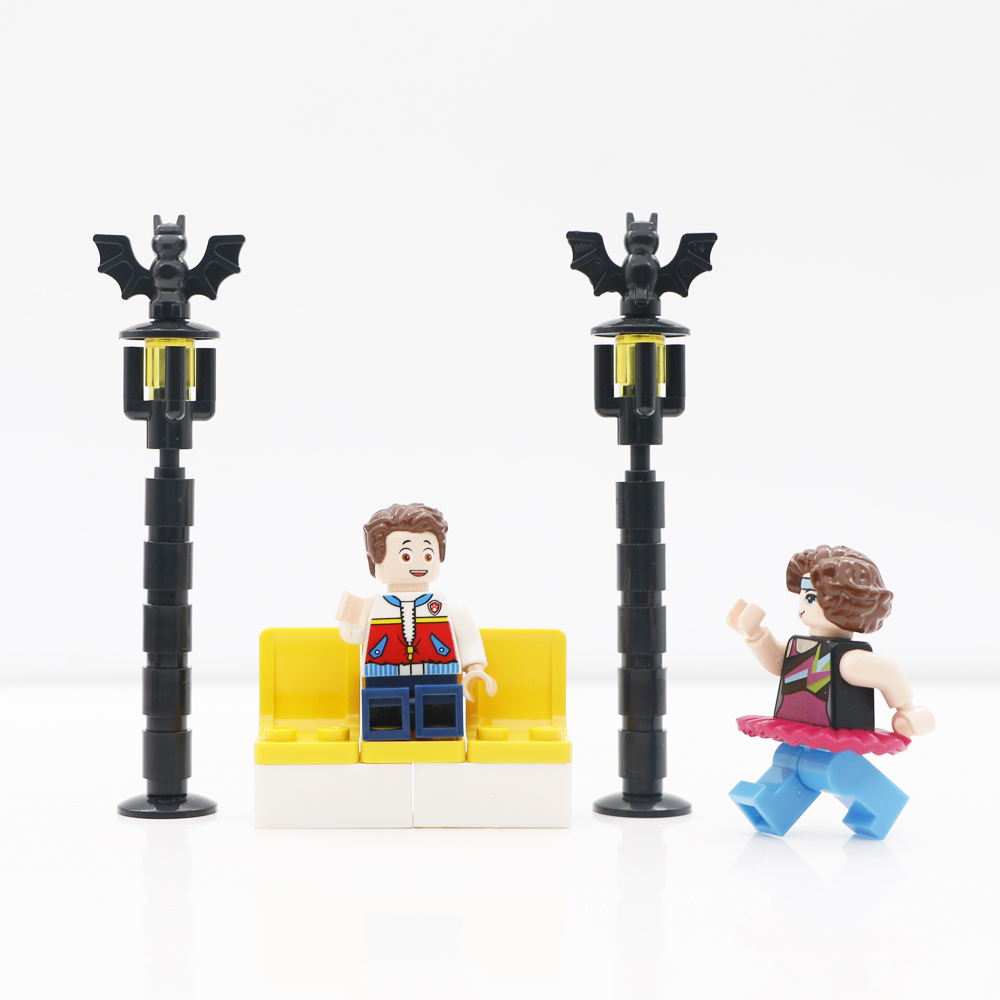 US $2 39 20% OFF|City Building Blocks Signal Light Street Lights Lamp Post  Train Station Accessories MOC Brick Toys Compatible LegoINGlys Friends-in