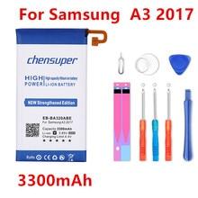 Chensuper 3300 мАч Батарея EB-BA320ABE для Samsung Galaxy A3 A320F SC-04J SGH-N417 A320 A320FL A320Y замена батареи