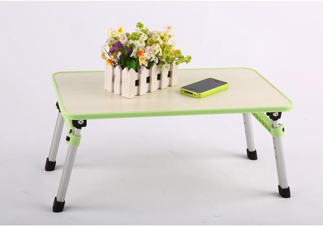 Dobrável notebook mesa laptop mesa notebook mesa do computador de mesa mobiliário de escritório, Dobrável retrátil pequena mesa