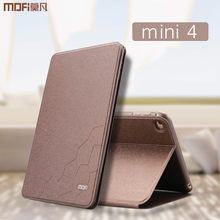 Para ipad mini 4 funda para tableta de lujo PU cuero protector soporte 7,9 pulgadas para Apple ipad mini 4 funda abatible mimi4 capa(China)