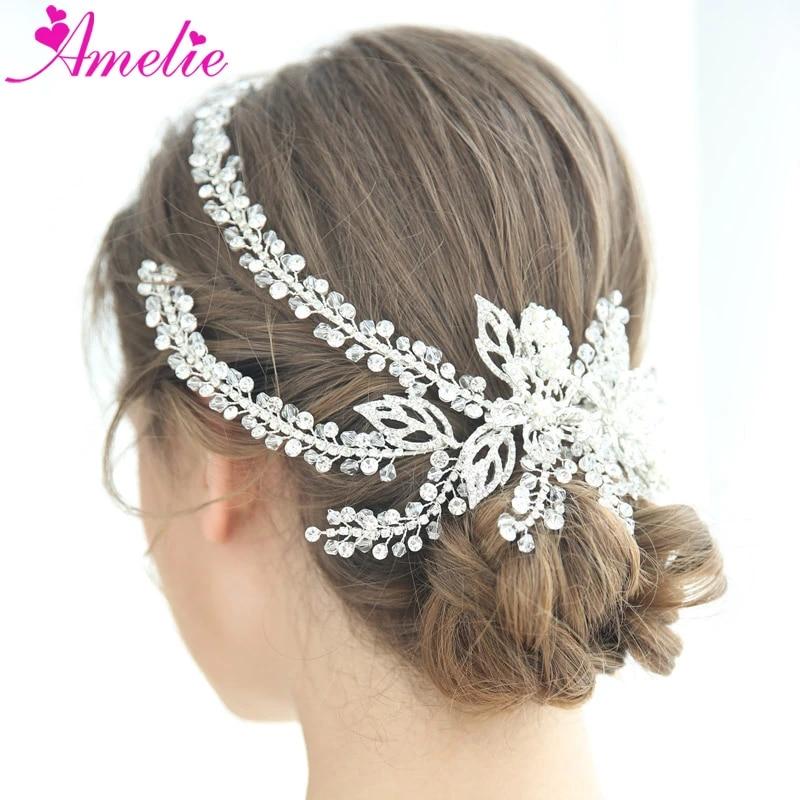 Bridal jewelry hair clip