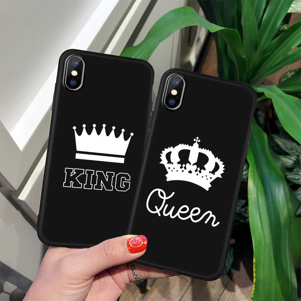 GerTong ソフトシリコーン電話ケース iphone SE 5 S 6s 6 7 8 プラスファッションブラックガール愛カバー iphone × XR XS 最大 Coque キャパ