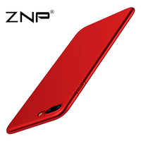 ZNP Luxury Phone Case For iPhone 7 6 6s 5 5s SE Ultra Thin Slim Soft Cover Cases For iPhone 7 6 6s Plus Case PC Back Coque Funda