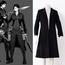 Anime Attack on Titan Cosplay Costume Shingeki no Kyojin Captains 2nd Clothes Cosplay Uniform Recon Corps Rivaille Cloak