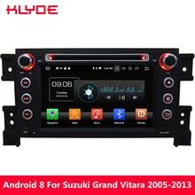 KLYDE 4G WIFI Android 8.0 Octa Core 4GB RAM 32GB ROM DAB FM BT Car DVD Multimedia Player Radio For Suzuki Grand Vitara 2005-2013
